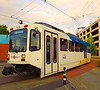 MAX Light Rail At Hillsboro, Oregon : Several shots of Portland's MAX light rail trains out at the south end of the Blue Line.  Hillsboro, Oregon, 7-14-12.